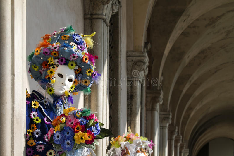 Download Beautiful Mask At Carnival In Venice Stock Photo - Image of arcade, multicolor: 14289144