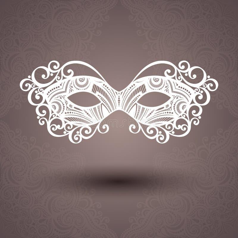 Beautiful Masquerade Mask (Vector) vector illustration