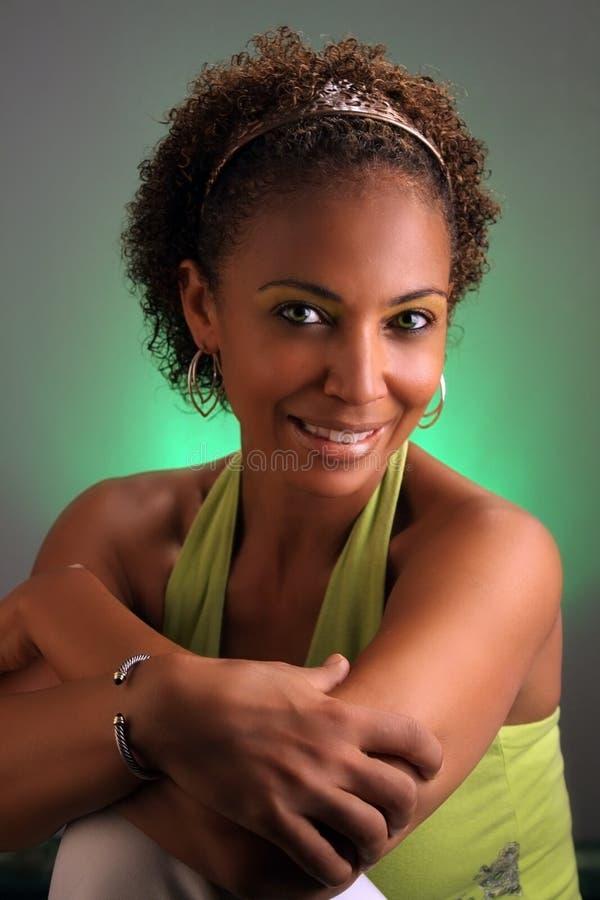 Beautiful Mature Black Woman Headshot 3 Stock Photo - Image Of Alone, Closeup 15724040-9518