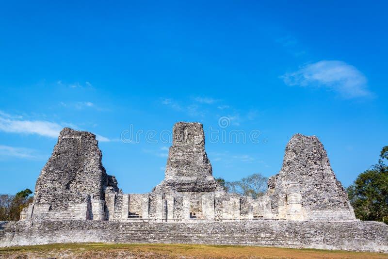 Beautiful Mayan Temple stock photography