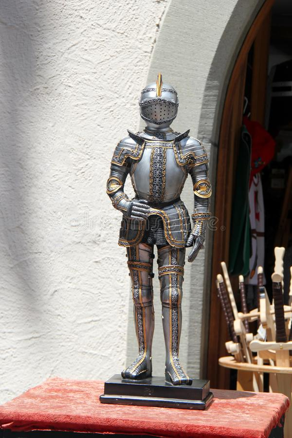 Beautiful Medieval Armor. Or Armour royalty free stock photography