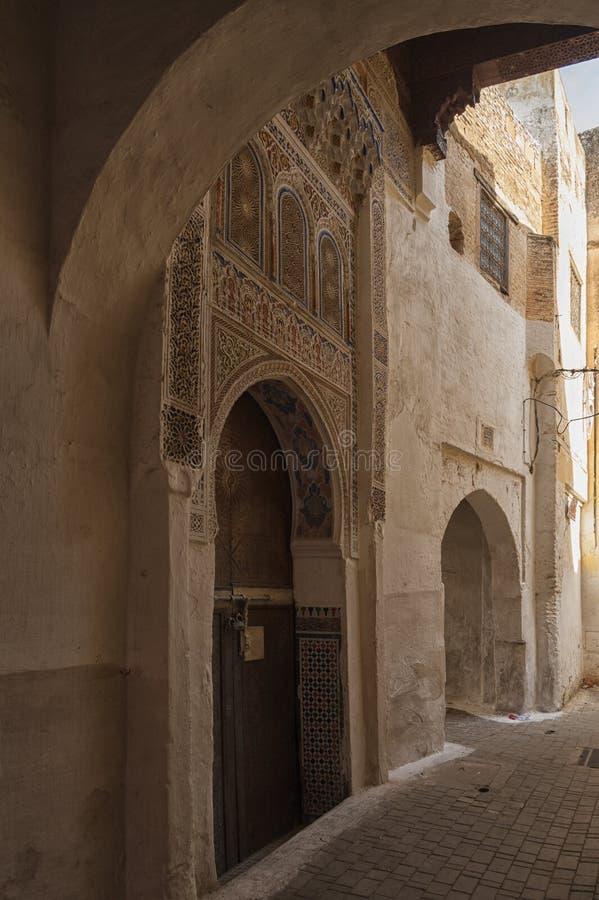 The beautiful medina of Meknes. Morocco stock images