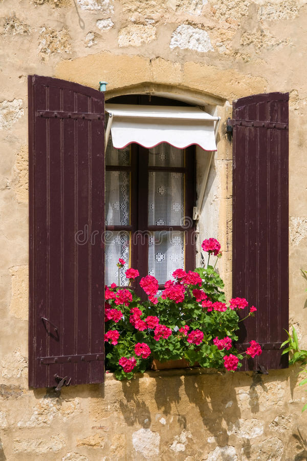 Beautiful Mediterranean window