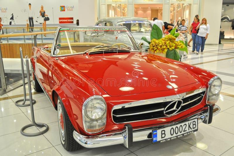 Download Beautiful Mercedes 230SL 1963 On Retro Car Display Editorial Stock Photo - Image: 23554138