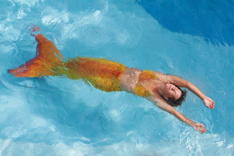 Download Beautiful Mermaid In Water Royalty Free Stock Image - Image: 28607036