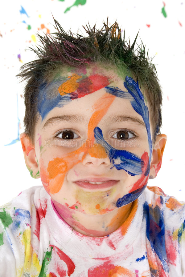 Download Beautiful Mess stock photo. Image of child, head, portrait - 880528