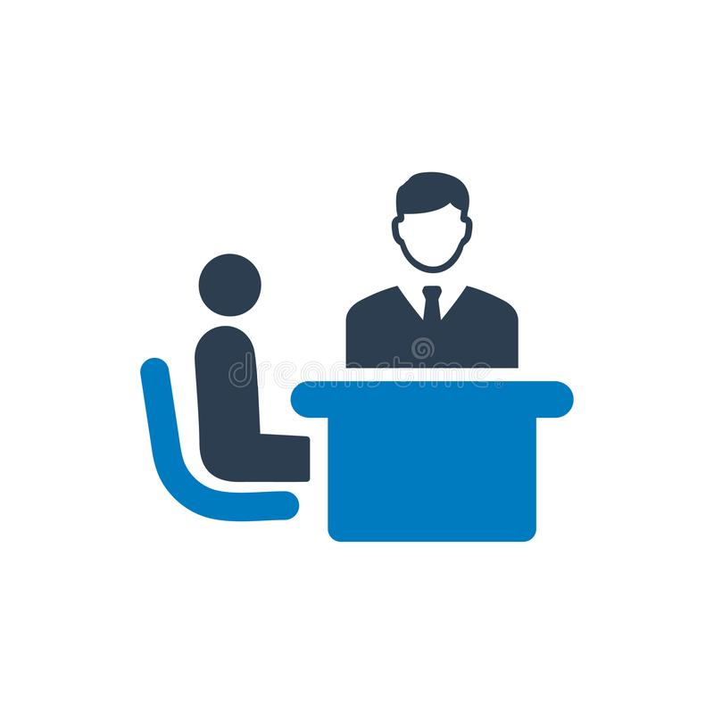 Business Discussion Icon vector illustration