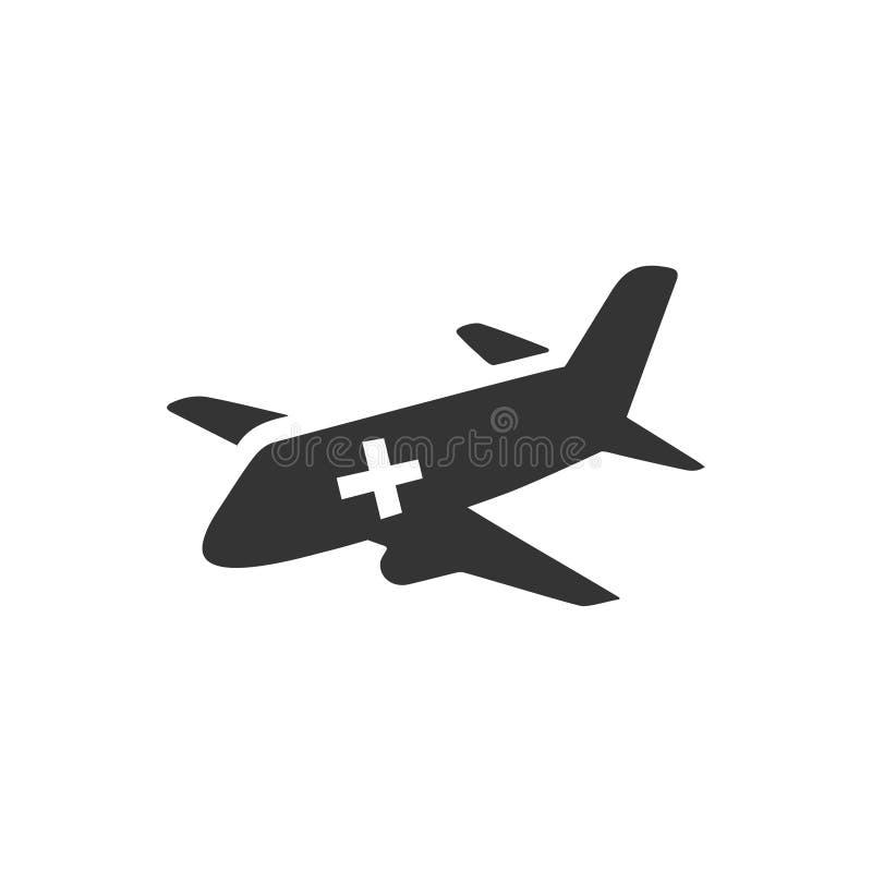 Air Ambulance Icon vector illustration