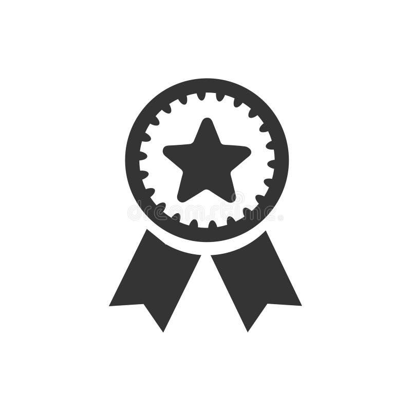 Award Ribbon Icon. Beautiful, Meticulously Designed Award Ribbon Icon royalty free illustration
