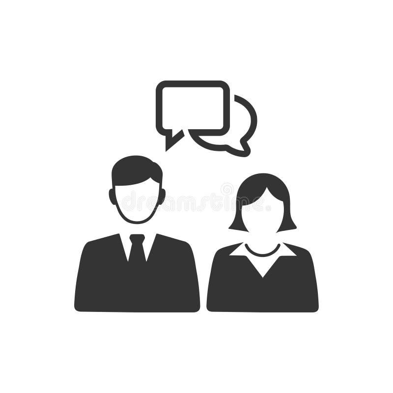 Business Communication Icon. Beautiful, Meticulously Designed Business Communication Icon stock illustration