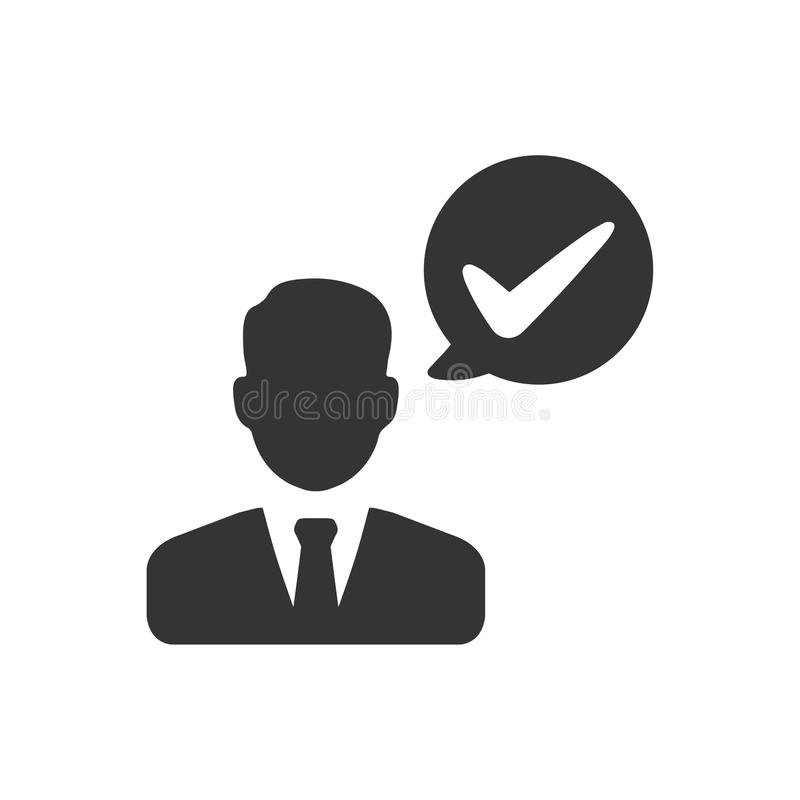 Business Project Done Icon. Beautiful, Meticulously Designed Business Project Done Icon vector illustration