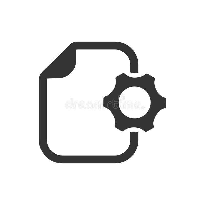 Content Management Icon stock illustration