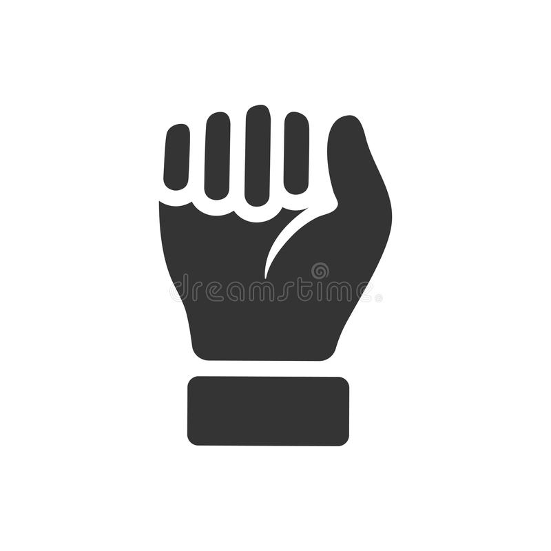 Durable Hand / Power Icon. Beautiful, Meticulously Designed Durable Hand / Power Icon stock illustration