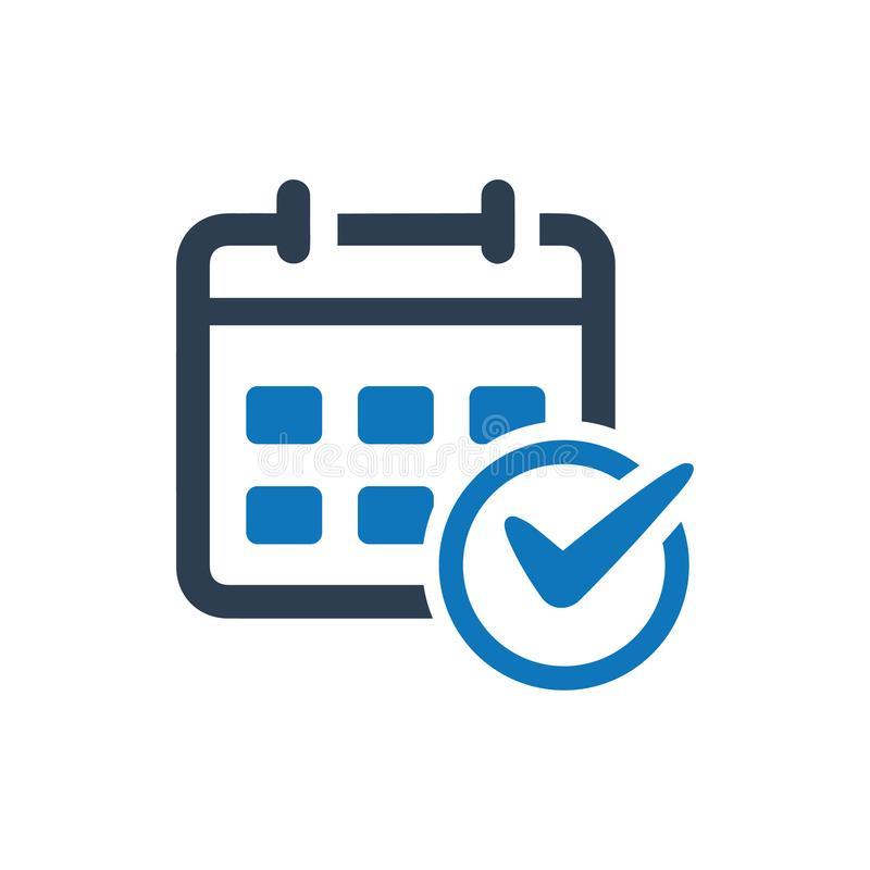 Event Planning Icon. Beautiful, Meticulously Designed Event Planning Icon royalty free illustration