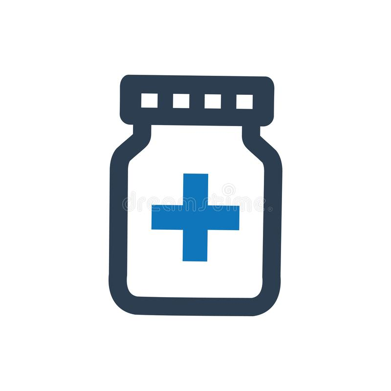 Medication Icon. Beautiful Meticulously Designed Medication Icon vector illustration