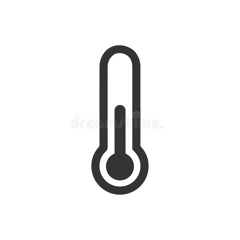 Thermometer Icon royalty free illustration