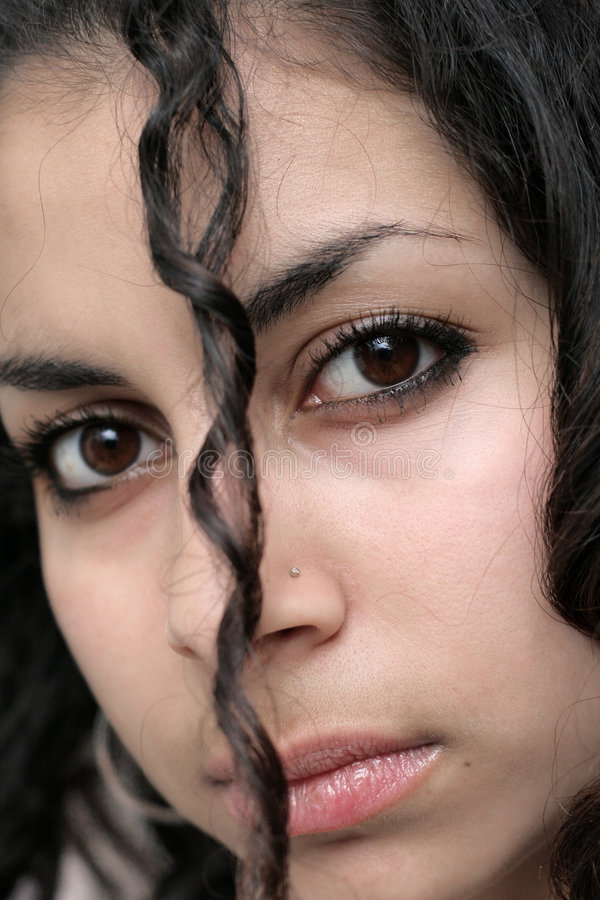 Download Beautiful Middle Eastern Girl Stock Photo - Image: 334220
