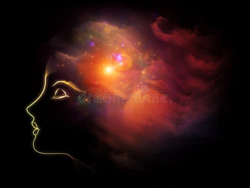 Download Beautiful Mind stock illustration. Illustration of imagination - 41800747