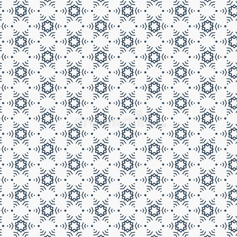 Beautiful minimal pattern vector illustration royalty free illustration