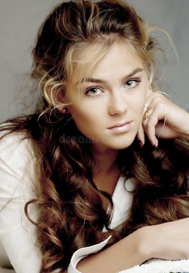 Download Beautiful model stock photo. Image of beauty, face, make - 3460144