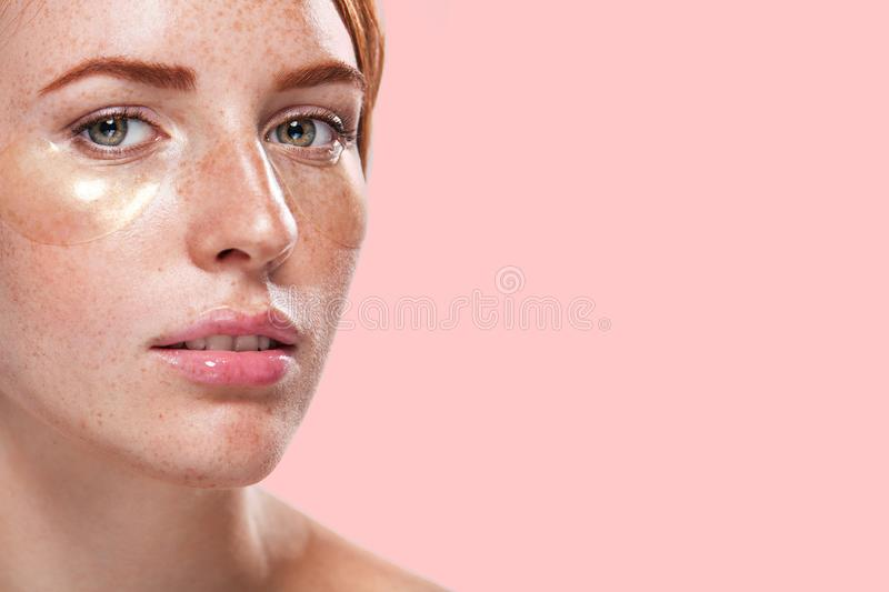 Ungroomed Nervous Unhappy Young Redhaired Ginger Woman