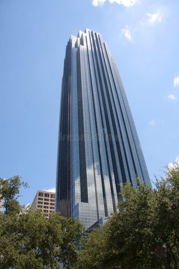 Beautiful modern building in Houston stock image