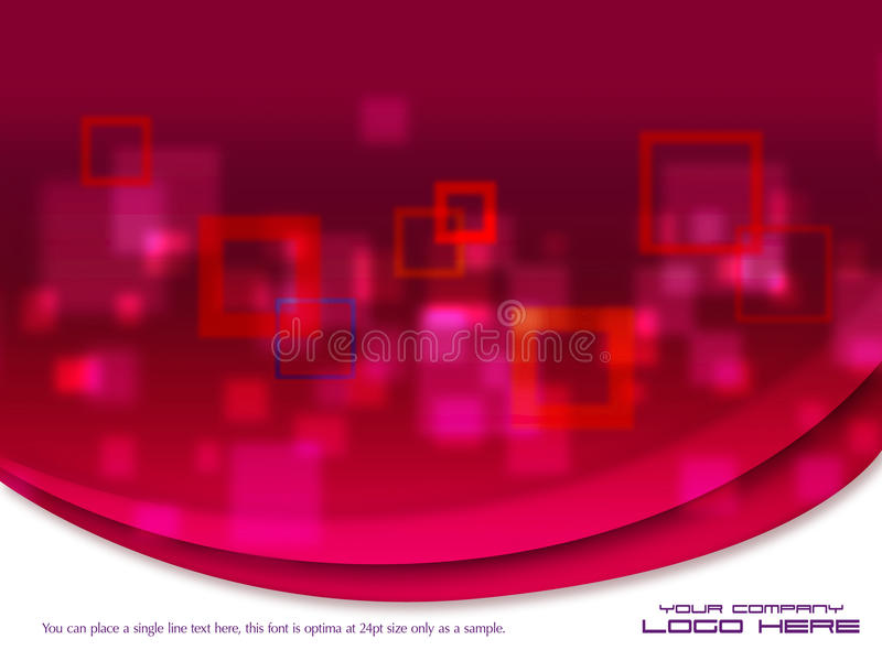 Beautiful Modern Graphic design Template royalty free stock image