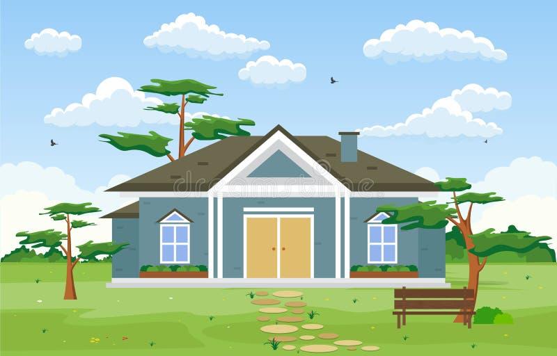 Beautiful Home Yard Stock Illustrations 1 106 Beautiful Home Yard Stock Illustrations Vectors Clipart Dreamstime