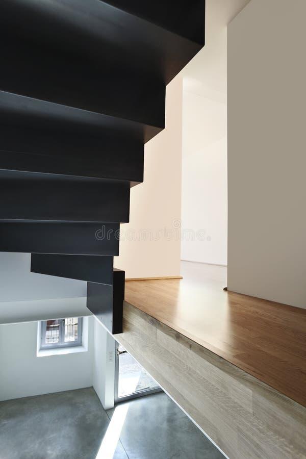 Download Beautiful modern loft stock photo. Image of floor, hardwood - 19242828