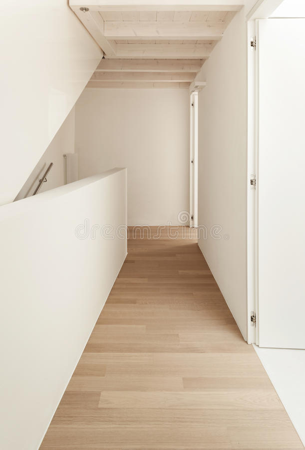 Beautiful modern loft royalty free stock images