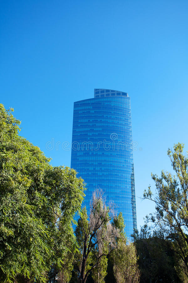 Beautiful Modern Office Building Stock Photography