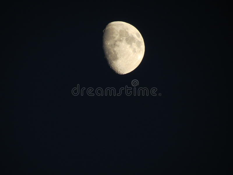 Beautiful moon royalty free stock image