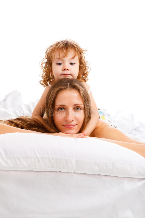 Download Beautiful Mother And Daughter Royalty Free Stock Image - Image: 13975056