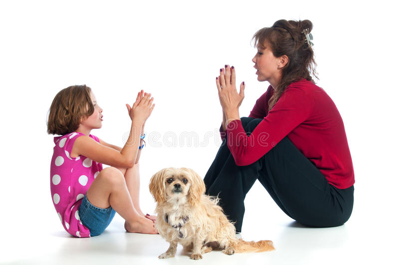 Download Beautiful Mother And Daughter Playing Royalty Free Stock Photography - Image: 16616547