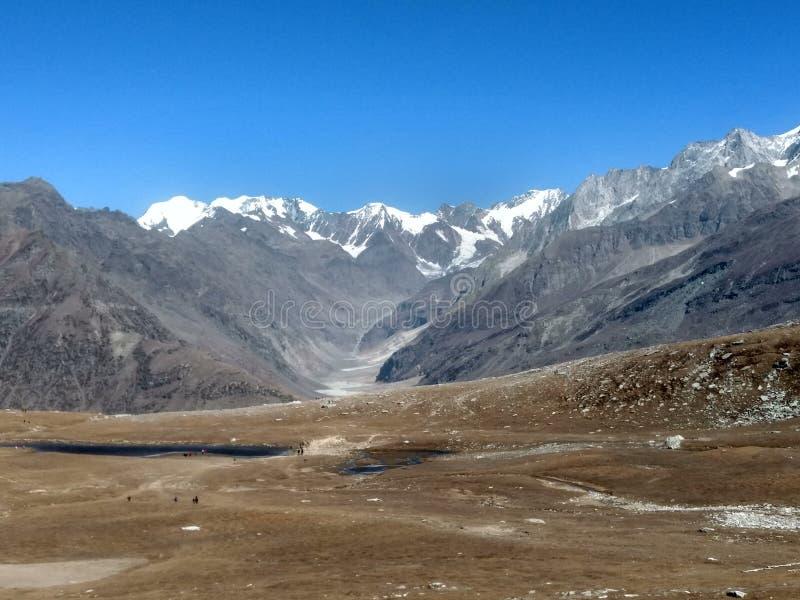 Beautiful mountain in India stock photo