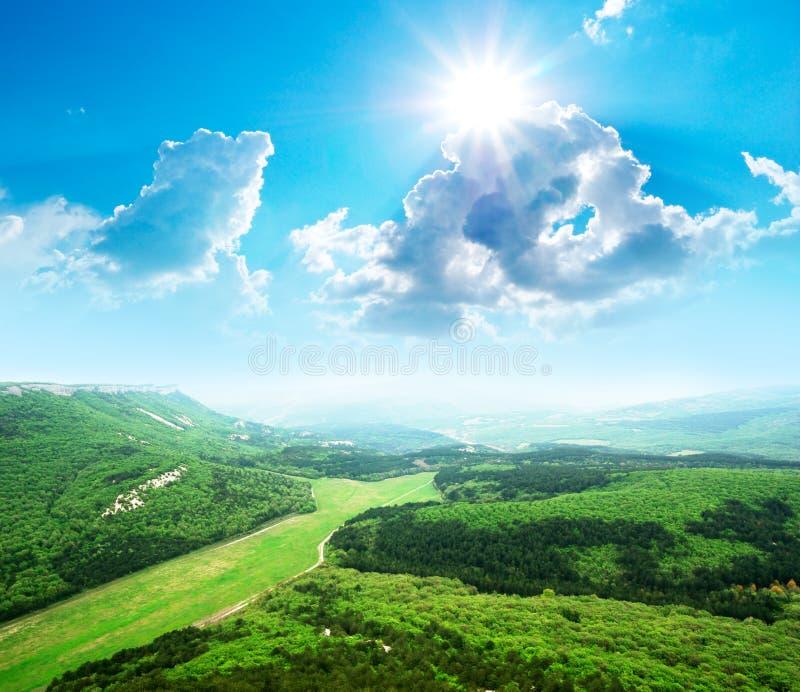 Beautiful mountain landscape. stock image