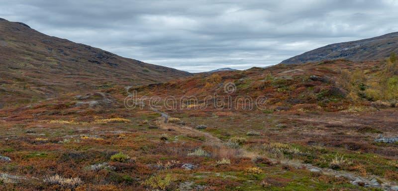 Beautiful mountain landscape in autumn stock photos