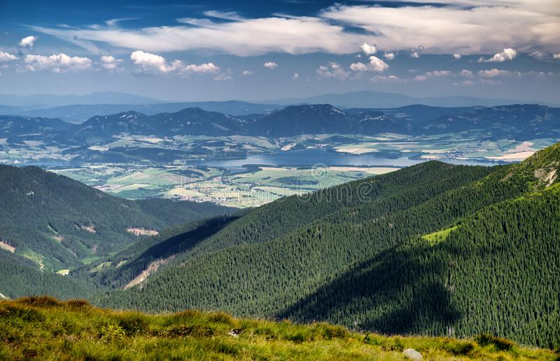 Beautiful mountain landscape royalty free stock images