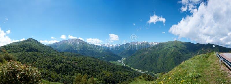 Beautiful mountain landscape, Caucasus, Russia stock images