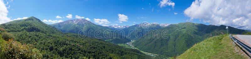 Beautiful mountain landscape royalty free stock photo