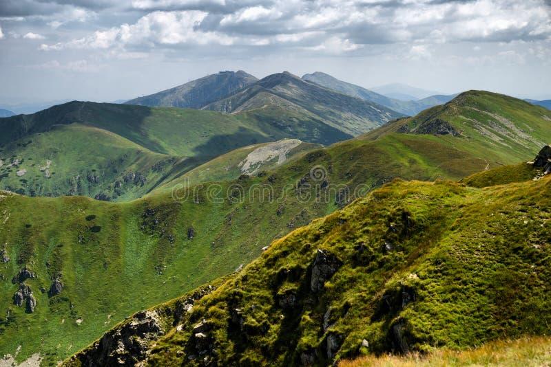 Beautiful mountain landscape stock photo