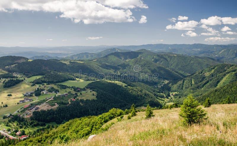 Beautiful mountain landscape, Slovakia royalty free stock photography