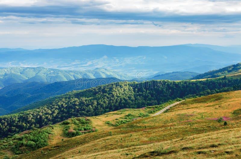 Beautiful mountain landscape stock images
