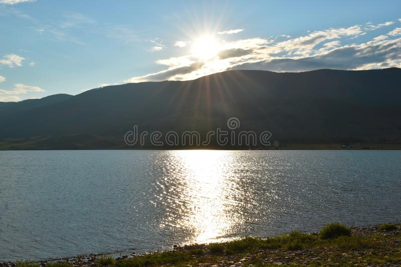 Picturesque natural water landscape. stock photos