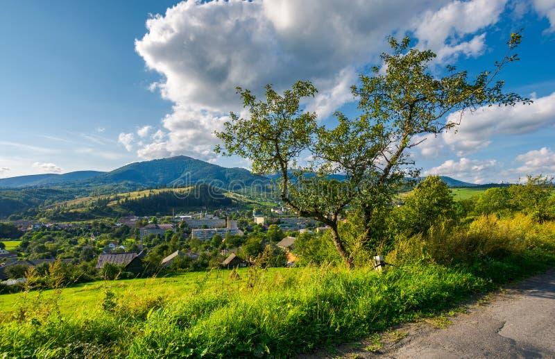 Beautiful mountainous countryside weekend stock photo