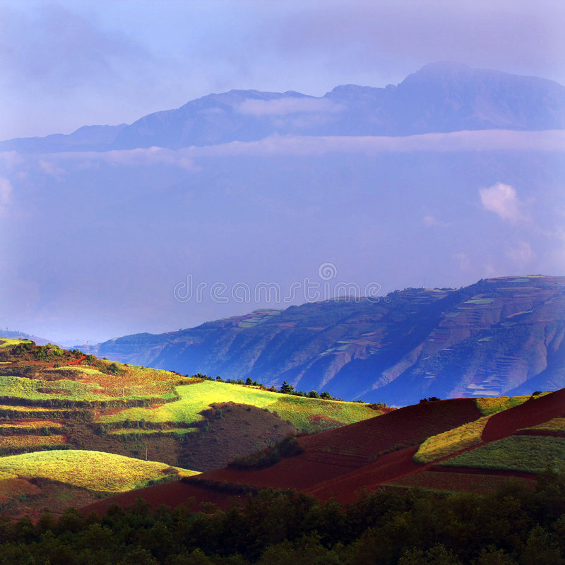 Download Beautiful mountains stock photo. Image of chinese, hills - 7925974