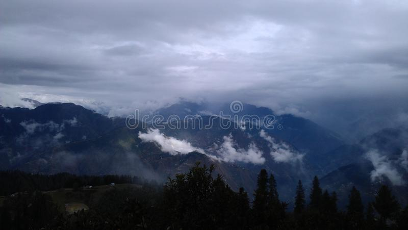 Beautiful mountains royalty free stock photography