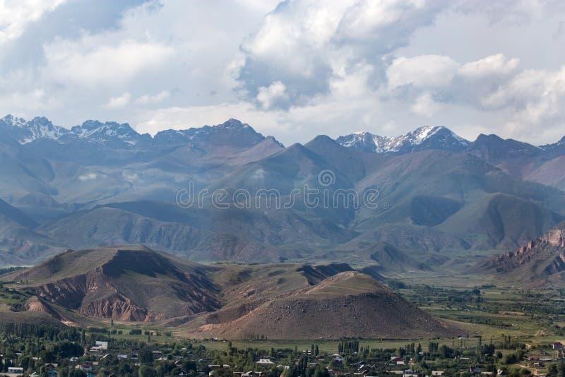 Beautiful mountains in Kyrgyzstan royalty free stock photos
