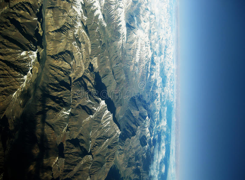 Beautiful mountains from the sky