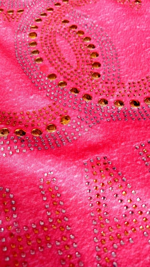 Beautiful fabric texture wallpaper. Beautiful multi coloured fabric texture wallpaper for mobile phone royalty free stock photography